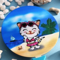 Q樂貓敲樂--(8)夏日風情(含保護套隨機配色)