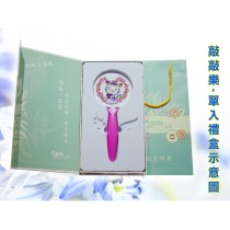 Q樂貓敲樂--(2)浪漫公主單盒(含保護套隨機配色)